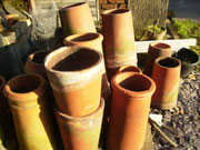 Various wide selection of chimney pots